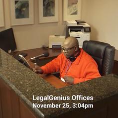 LegalGenius - New Receptionist