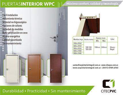 Puertas interior WPV