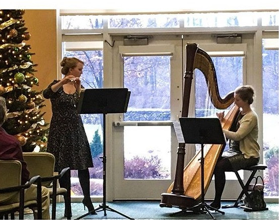 "Angelus Duo performs ""A Holiday Recital"" in Rochester, NY"