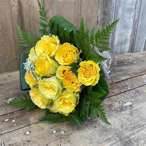 Bouquet - 1/2 Dozen Roses