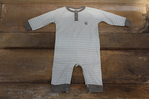 Baby - Organic Cotton Romper Grey