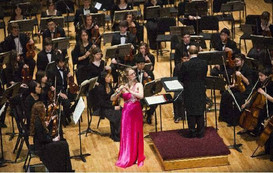 Solo with the Rochester Philharmonic Orchestra