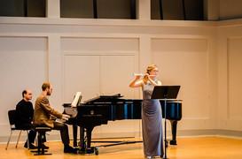 Solo Recital at Indiana University