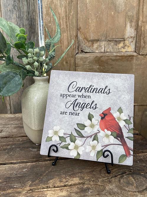 Cardinals Appear Plaque
