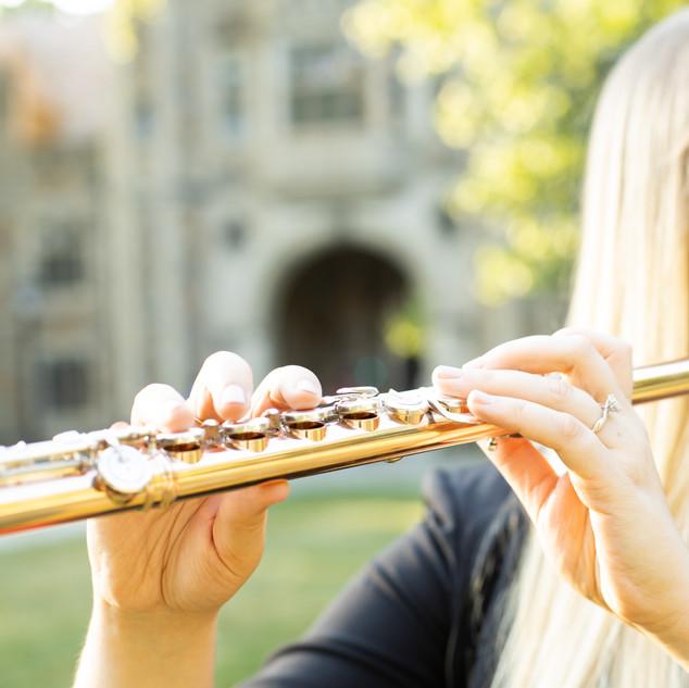 Melissa Mashner, flute