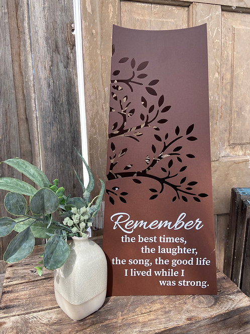 Remember Memorial Pillar