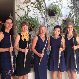 Go Blue Flutes performing at the National Flute Convention