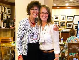 With Debbie Parker, my first flute teacher