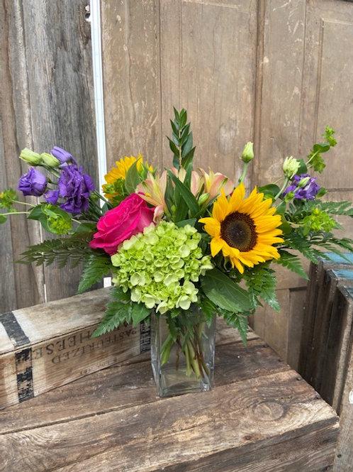 Summer Vase Arrangement