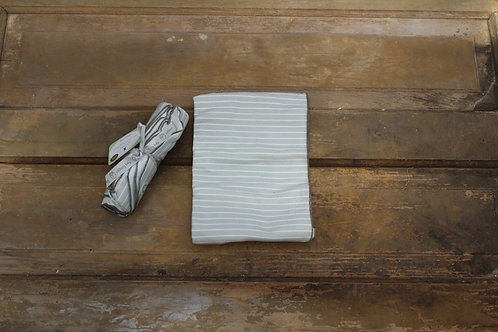 Baby - Striped Organic Cotton Blanket