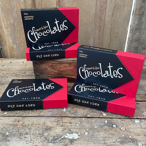1/2 lb Assorted Sugar & Spice Chocolates