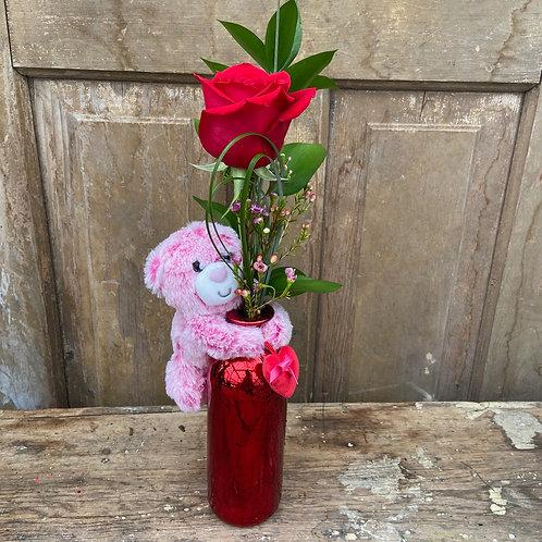 Love and Hugs Bottle Vase