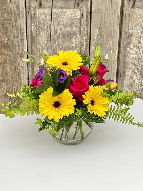 Bright and Cheery Vase