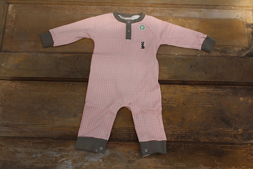 Baby - Organic Cotton Romper Pink