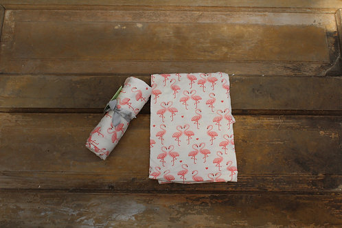 Baby - Flamingo Swaddle Blanket made with Bamboo
