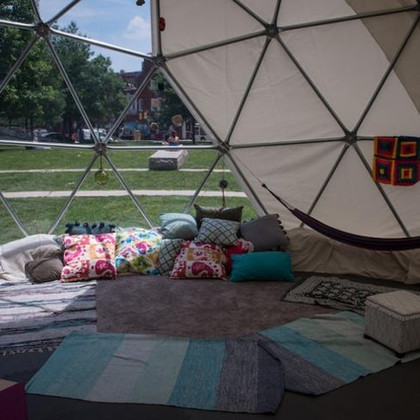 Geodesic Dome at the PMA