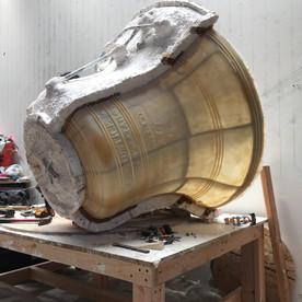Justice Bell replica in progress