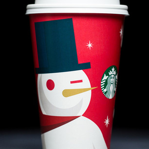 Starbucks Holiday Cups 2012