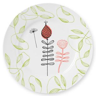 Botanical Plate