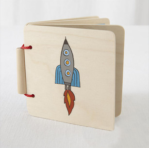 Space Wood Book Cover