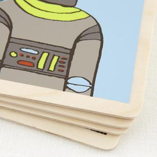 Robot Wood Book Interior