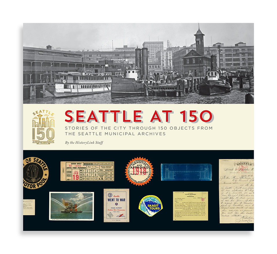 Seattle At 150 book cover