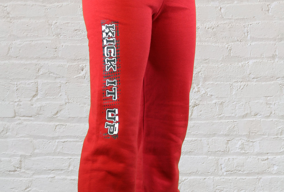 Adult Sweatpants with Block Letters