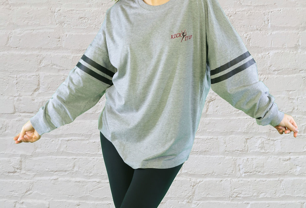 Youth Long Sleeve Sporty Crew