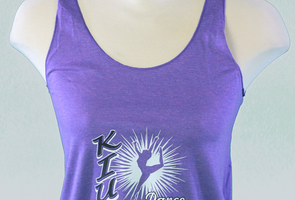 Adult Purple Racerback Tank