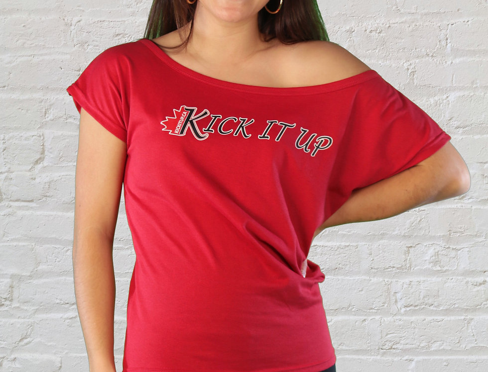 Adult Slouch Off Shoulder T