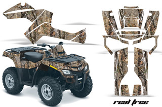 EZ Fit Kits - Pre-Cut camo wraps for ATVs