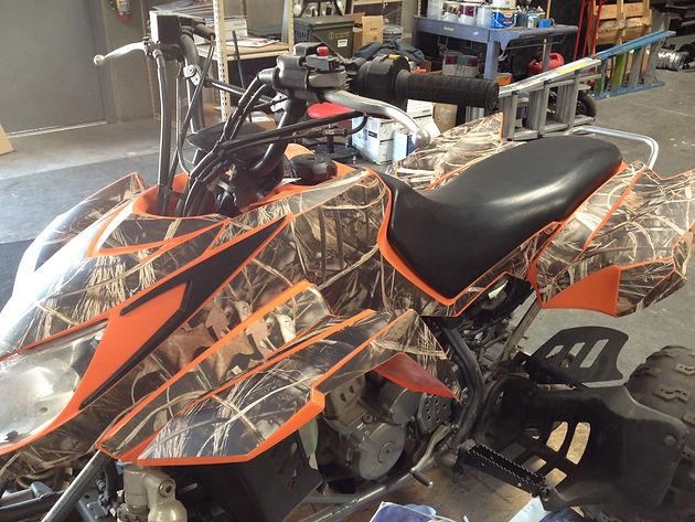 EZ Fit Kits - Pre-Cut camo wraps for ATVs