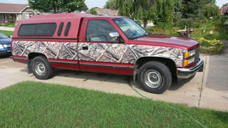 So you want to Camo Accent your truck...