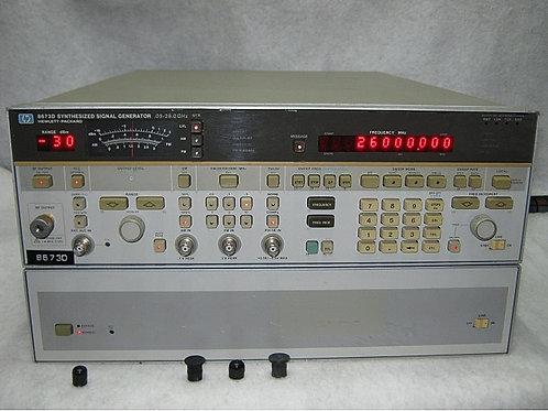 HP Keysight 8673D Synthesized Signal Generator