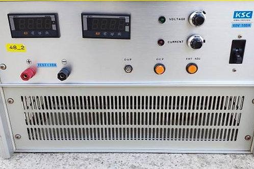 KSC DC Power (0~60V/0~100A)