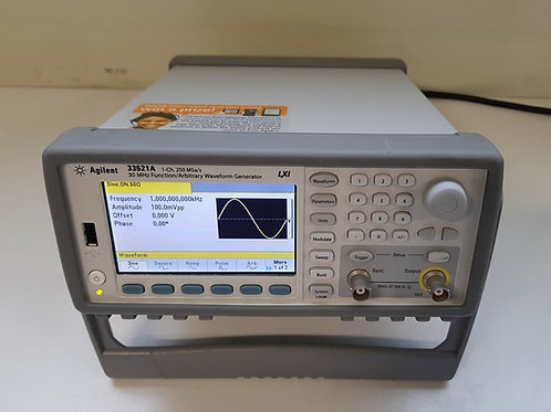 Agilent 33521A 30MHz Function Arbitrary Waveform Generator