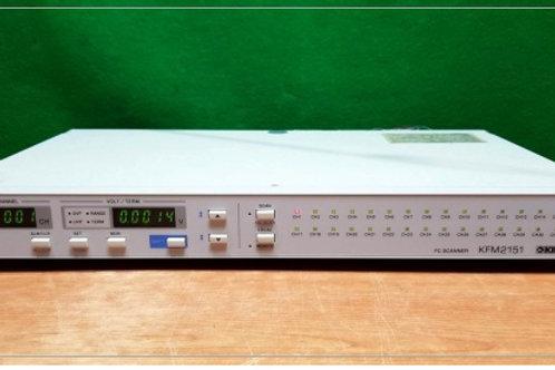 Kikusui KFM2151 FC 32ch Scanner