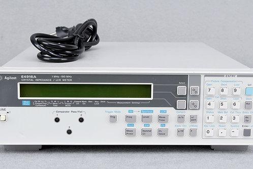 Agilent E4916A Crystal Impedance