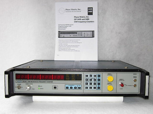EIP 548B Microwave Frequency Counter 0 Hz - 26.5 GHz
