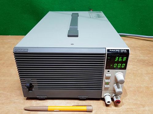Kikusui PAK35-30A DC Power Supply(0-35V 0-30A)