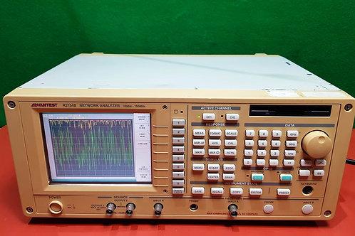 Advantest R3754B 10KHz-150MHz Network Analyzer