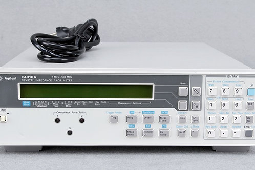 Agilent E4916A Crystal Impedance