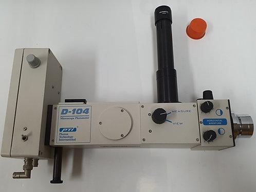 HORIBA PTI 710 Photomultiplier /D-104 Microscope Photometer