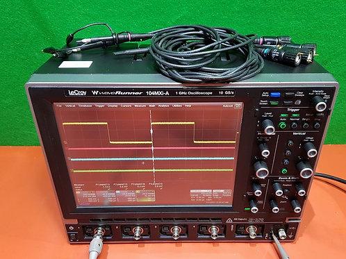 Lecroy WaveRunner 104MXi-A Oscilloscope (1 GHz, 4CH, 10GS/s)