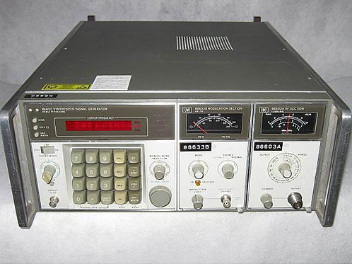 HP/KEYSIGHT 8660C Synthesized Signal Generator