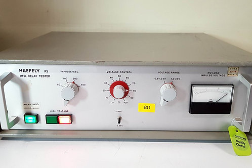 HAEFELY P3 HFD-Relay Tester