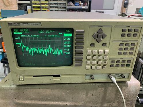 HP 35660A Dual-Channel Dynamic Signal Analyzer, 244µz to 102kHz