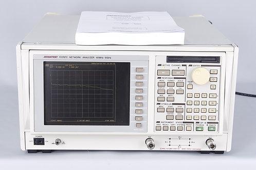 Advantest R3767C Network Analyzer, 40MHz-8GHz