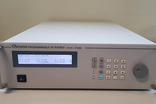 Chroma 61604 Programmable AC Source 2000VA 300V 15Hz-1kHz