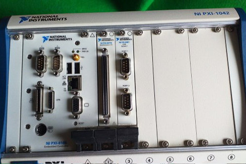 National Instruments Ni Pxi-1042 PXI 8-slot 3u Chassis